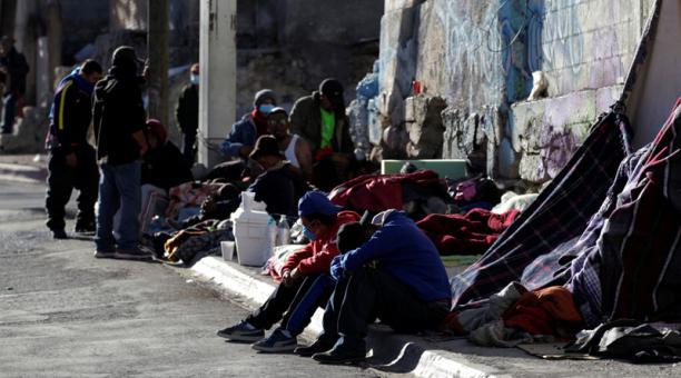 Migrantes en refugios de México