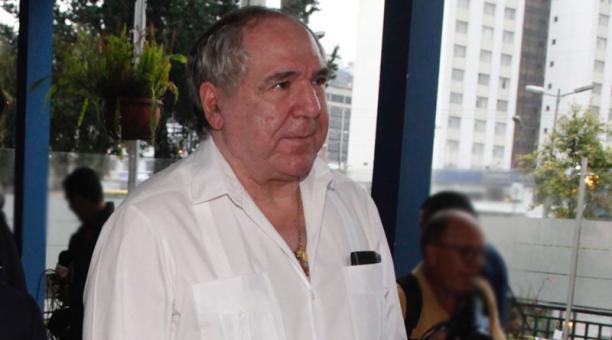El expresidente Abdalá Bucaram fue inscrito como candidato a asambleísta. Foto: Archivo/ EL COMERCIO