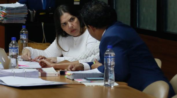 En enero del 2020, Vicuña fue declarada culpable por el delito de concusión en el caso Diezmos. Foto: Archivo EL COMERCIO