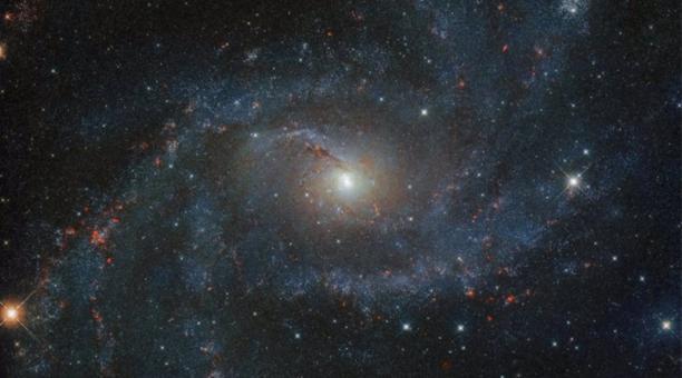 Galaxia NGC 6946. Foto: NASA