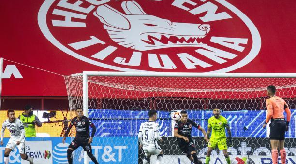 Xolos de Tijuana empató sin goles en el partido inicial de la Liga MX. Tomado de Xolos