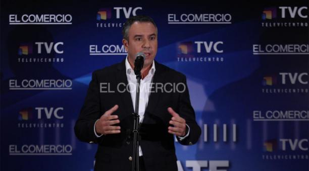Guillermo Celi, candidato a la Presidencia de la República por el movimiento Suma. Foto: Julio Estrella / EL COMERCIO