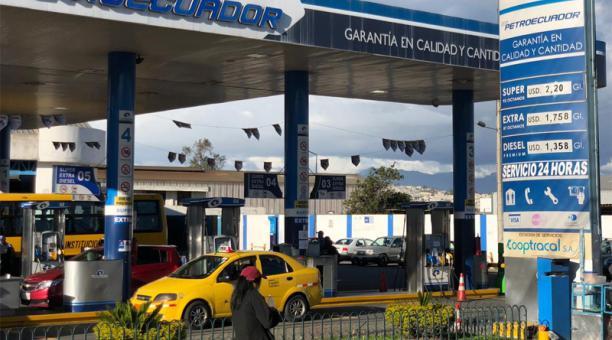 La reducción del porcentaje de variación para el diésel fue un pedido del sector de transporte público y de carga. Foto: Eduardo Terán / EL COMERCIO