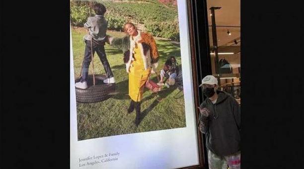 El hijo de Marc Anthony y Dayanara Torres, Ryan Adrián, compartió una foto con Jennifer López. Foto: Instagram Marc Anthony