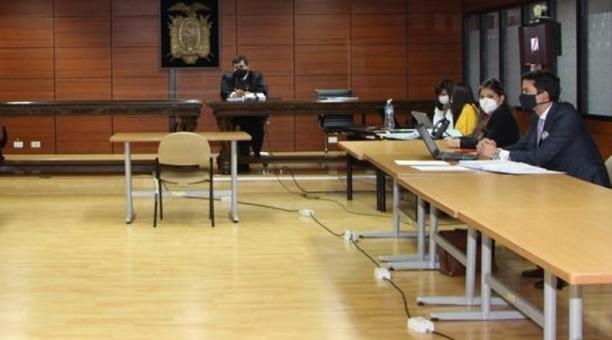 El juez Iván León declaró culpable este 13 de enero del 2021 a la consejera del Cpccs María Fernanda Rivadeneira por el delito de calumnia. Foto: Archivo/ EL COMERCIO.