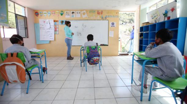 El fondo busca promover inclusión educativa de más de 100 000 niños, niñas y adolescentes en situaciones de vulnerabilidad de Ecuador. Foto: Archivo/ EL COMERCIO.