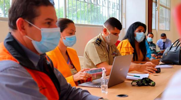 En cantones de Esmeraldas se realizarán simulacros de tsunamis