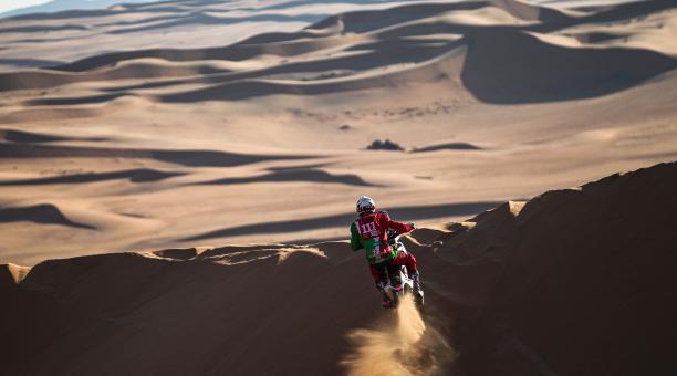 Pierre Charpin falleció tras las heridas sufridas luego de una caída en la sétima etapa del Rally Dakar 2021. Foto: Dakar