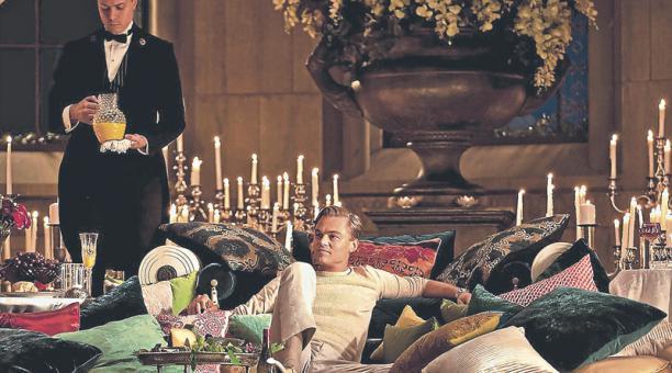 El 2013 se estrenó una nueva adaptación de la película 'El gran Gatsby'. La cinta fue protagonizada por Leonardo DiCaprio (foto) y dirigida por Baz Luhrmann.