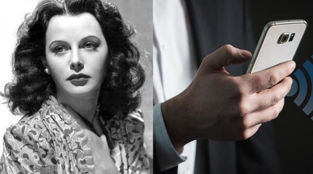 Sin duda a quien se le debe la manera de vivir de la actualidad es a la actriz e inventora austriaca Hedy Lamarr, precursora del wifi, el Bluetooth y el GPS, gracias a su técnica del salto de frecuencia. Fotos: Pxhere y Pixabay
