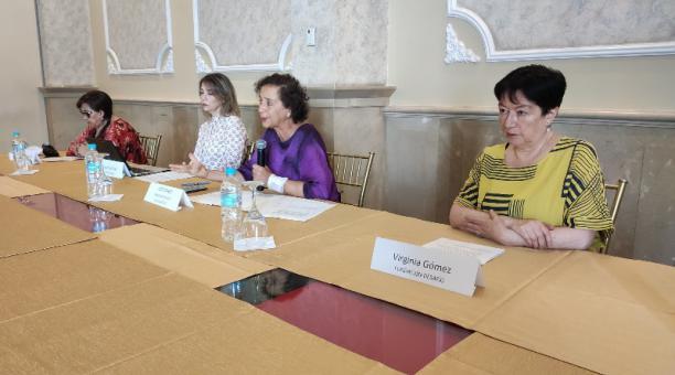 Este martes 19 de enero del 2021, colectivos de mujeres presentaron el informe 'Nuestros derechos, nuestras demandas'. Foto: Twitter Fundación Desafío