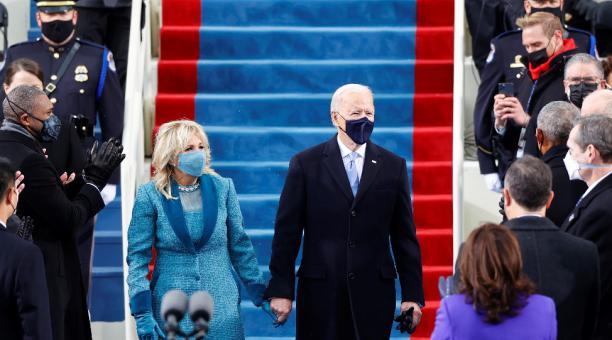 Joe Biden fue posesionado como presidente de Estados Unidos el 20 de enero del 2021. Foto: Reuters