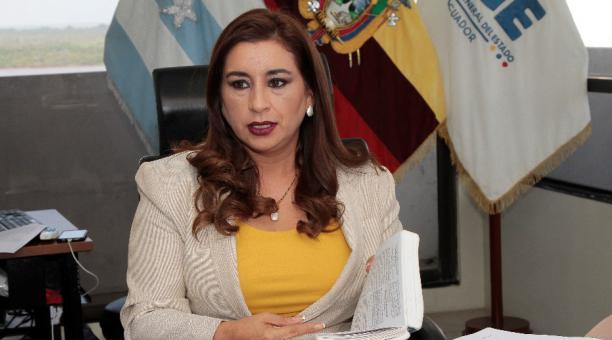 La exfiscal de Guayas Patricia Morejón será procesada por la Fiscalía ante un presunto tráfico de influencias derivado del caso Sobornos. Foto: Archivo/ EL COMERCIO