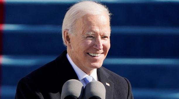 El demócrata Joe Biden se convirtió este miércoles  20 de enero de 2021 en el presidente número 46 de la historia de Estados Unidos. Foto: Reuters