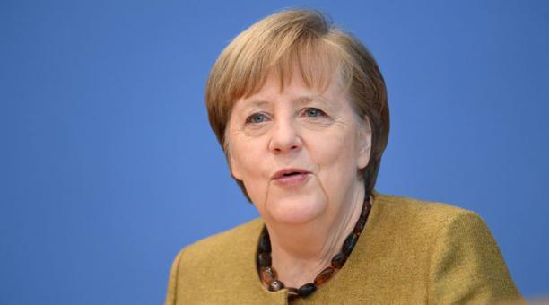 Angela Merkel se prepara para su salida tras casi 16 años gobernando Alemania. Foto: EFE.