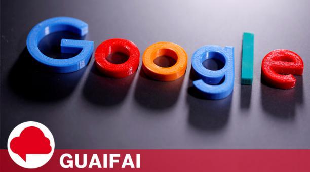 El logotipo de Google impreso en 3D en esta imagen de ilustración tomada el 12 de abril de 2020.