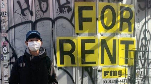 Al joven japonés le pagan para no hacer nada. Foto: Captura