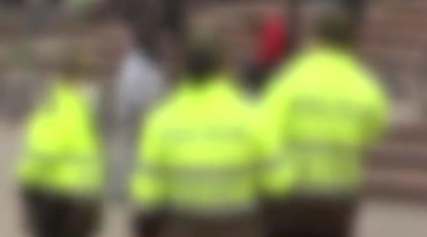 El llamado de alerta de un guardia privado fue clave para que los policías llegaran de inmediato al lugar, donde se desató una persecución por las calles de Bogotá. Foto captura