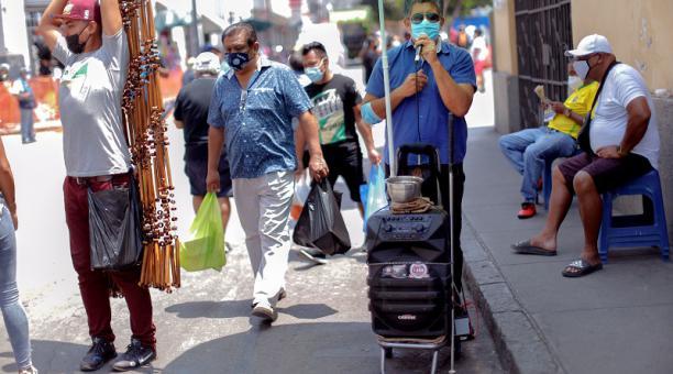 Una imagen de la capital paruana Lima. Este país registra un número creciente de contagios de covid-19