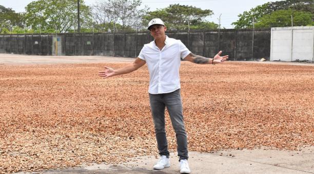 Gerardo Morán vende café ecuatoriano en Estados Unidos.