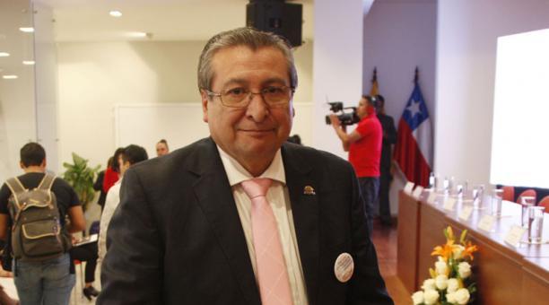José Cabreara, vocal del Consejero Nacional Electoral se pronunció este 24 de enero del 2021 sobre las medidas cautelares que fueron otorgadas por un juez penal del Guayas. Foto: Archivo/ EL COMERCIO.
