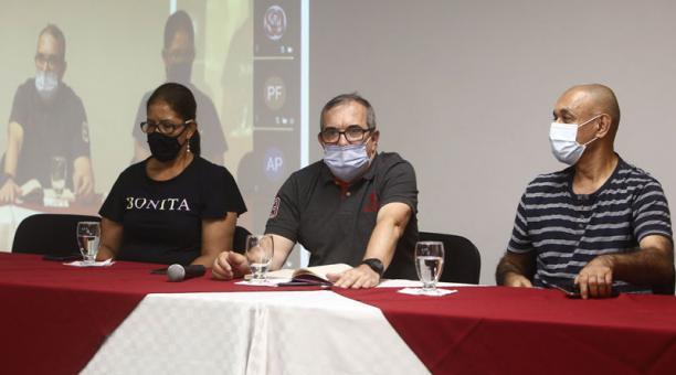 El Partido FARC cambió este 24 de enero del 2021 su nombre a Comunes. Foto: EFE.