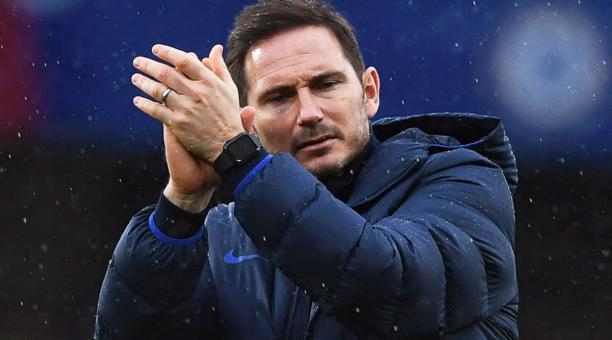 El DT inglés Frank Lampard fue despedido del Chelsea por los malos resultados en la Premier League. Foto: EFE.