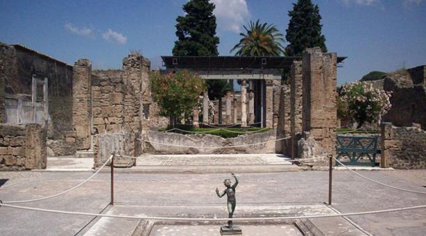 El Museo de la ciudad enterrada de Pompeya será reabierto al público. Foto: @PortalClasico