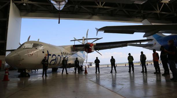 La convocatoria para la venta de bienes aeronáuticos de la empresa pública Tame está abierta a firmas nacionales y extranjeras. Foto: Vicente Costales/ EL COMERCIO