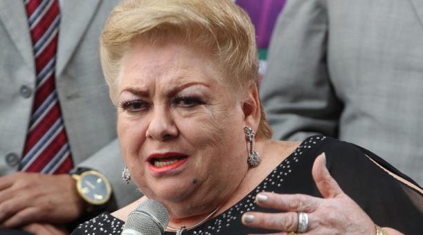 La popular cantante mexicana Paquita la del Barrio, de 73 años, será anunciada este lunes 25 de enero del 2021 como precandidata a una diputación local en el oriental estado de Veracruz por el partido Movimiento Ciudadano (MC). Foto: EFE Archivo