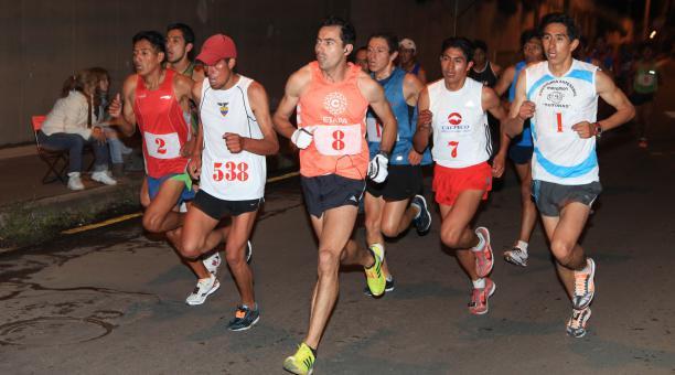 Byron Piedra era uno de los participantes estelares de la carrera de los Tres Juanes en el 2021. Foto: Archivo El Comercio
