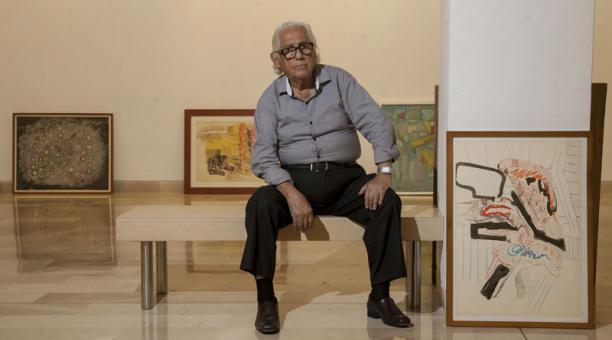 En noviembre del 2016, el Museo Antropológico y de Arte Contemporáneo (MAAC) y el Museo Municipal de Guayaquil rindieron un homenaje al artista. Foto: Archivo / EL COMERCIO
