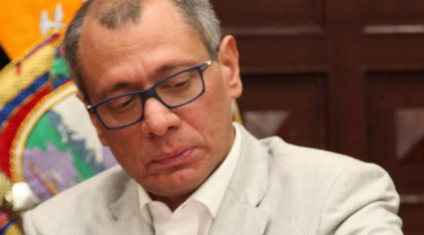 La entidad indicó que ahora esperan los resultados para comprobar si Jorge Glas está o no contagiado. Foto: Archivo EL COMERCIO