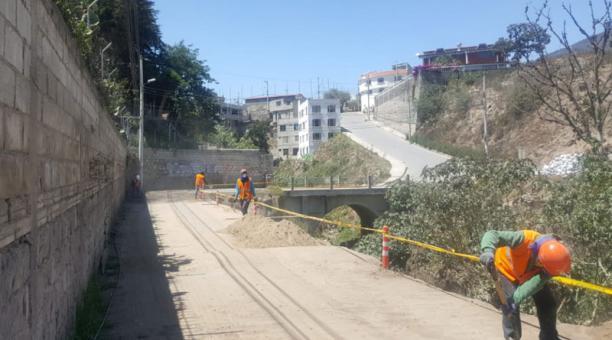El Municipio concluyó la construcción de la torre de prevención de embalsamientos de la quebrada Seca. Foto: Cortesía Municipio de Quito