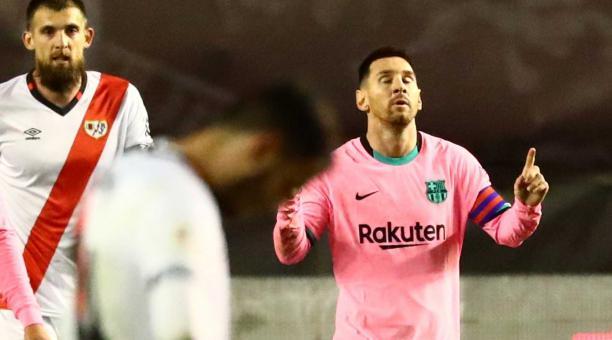 El contrato del argentino Lionel Messi ha generado polémica en España por la filtración a la prensa. EFE