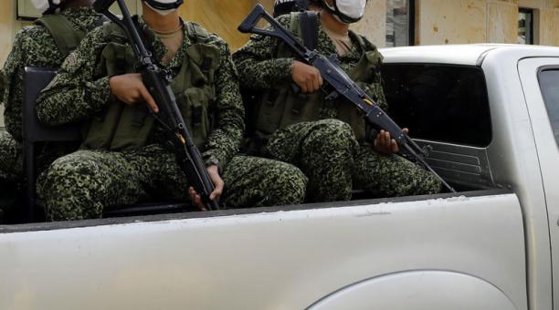 Imagen referencial. El Ejército de Colombia controla las actividades de la guerrilla en el país. Foto: EFE