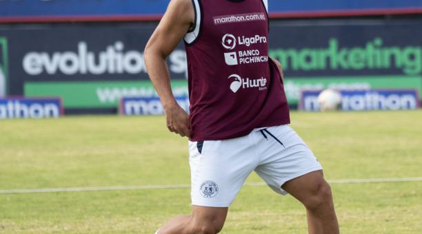 Fernando Gaibor permanecerá en Guayaquil City durante tres temporadas. Foto: Guayaquil City