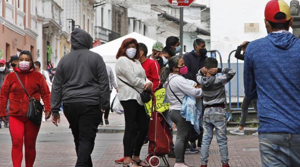 Hasta la mañana de este primero de febrero del 2021, Quito es la ciudad con más contagios de covid-19 en el país