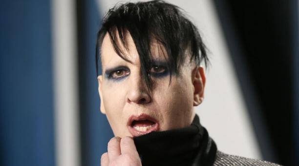 Marilyn Manson negó las acusaciones de abuso en su contra tras haber sido señalado por la actriz Evan Rachel Wood. Foto: REUTERS.
