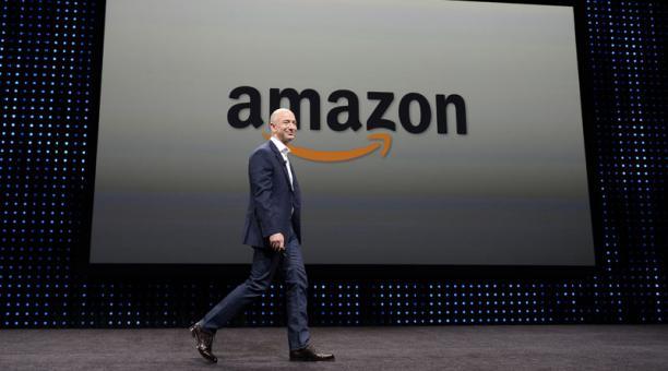 El fundador y consejero delegado de Amazon, Jeff Bezos, abandonará el cargo en el tercer trimestre de 2021. Foto: EFE
