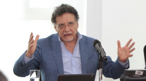 El contralor Pablo Celi anunció que realizará una auditoría a la deuda de Ecuador. Foto: Archivo/ EL COMERCIO
