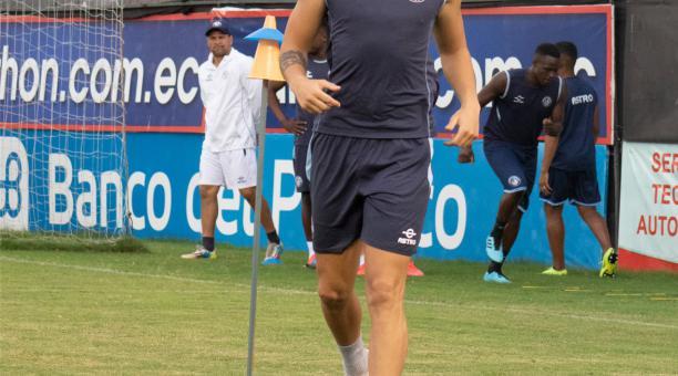 Agustín Ale llegó al Guayaquil City, después de una temporada en Delfín. Foto: Twitter de Guayaquil City