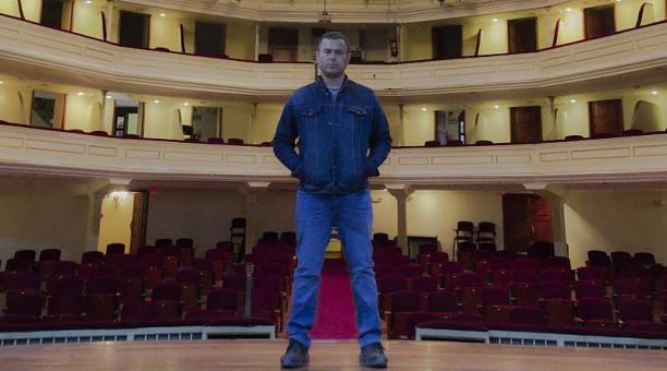 Álvaro Bermeo, líder de Guardarraya, se presentará en el Teatro Nacional Sucre. Foto: cortesía Álvaro Bermeo