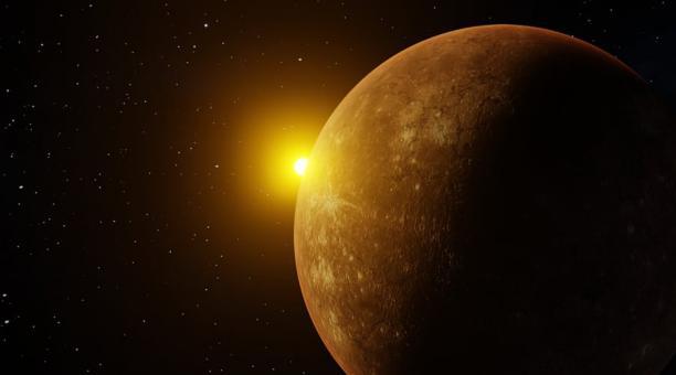 Foto referencial. Con dos quintas partes del tamaño de la Tierra, Mercurio tiene solo una astilla de atmósfera, llamada exosfera, con una presión que es una cuadrillonésima parte de la que se siente al nivel del mar en la Tierra. Los científicos creen que