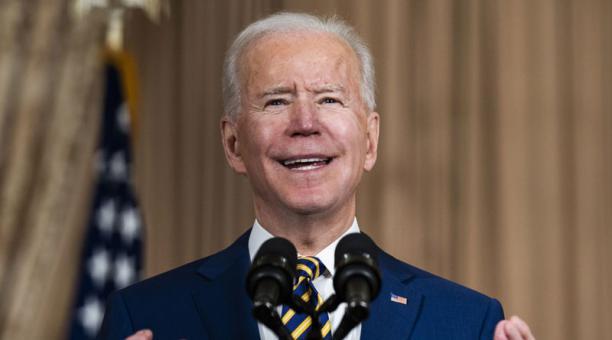 Biden anunció que pondrá fin al apoyo de Estados Unidos a las operaciones ofensivas de Arabia Saudita en Yemen. AFoto: EFE
