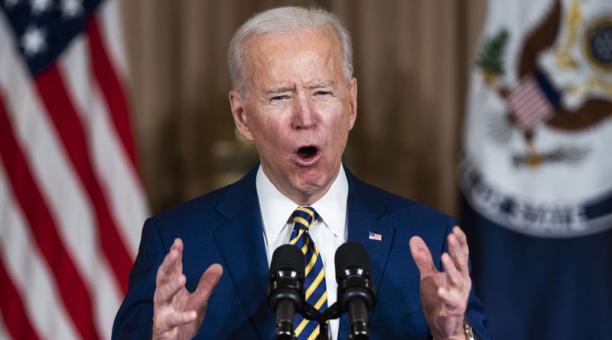El plan de ayuda fiscal por el covid-19 de Joe Biden, presidente de Estados Unidos, ganó impulso este 5 de febrero del 2021. Foto: EFE.