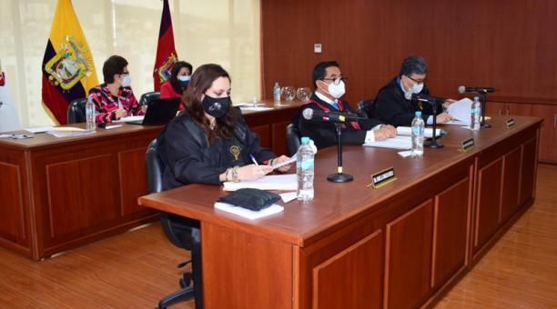 Este primer intento de elección se da 10 días después de que Paulina Aguirre terminara sus funciones como presidenta del alto Tribunal.