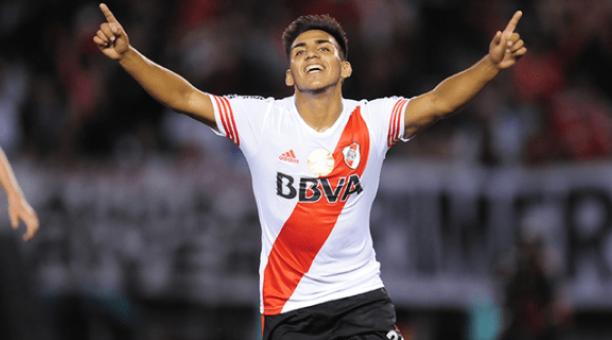 Juan Cruz Kaprof defendió los colores de River Plate de su natal país. Foto: Tomada de Twitter