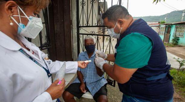 Ecuador registra un total de 257 115 casos positivos de covid-19 la mañana del sábado 6 de febrero de 2021. Foto: Enrique Pesantes / EL COMERCIO