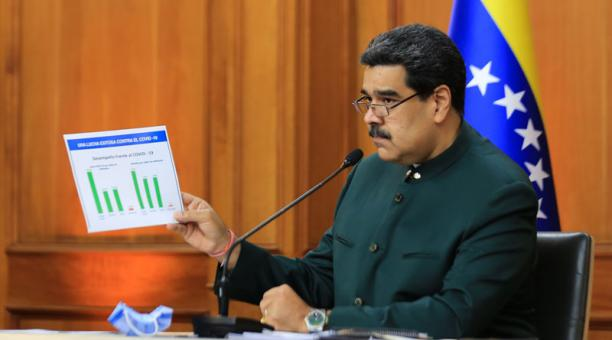 El presidente venezolano, Nicolás Maduro. Foto: EFE